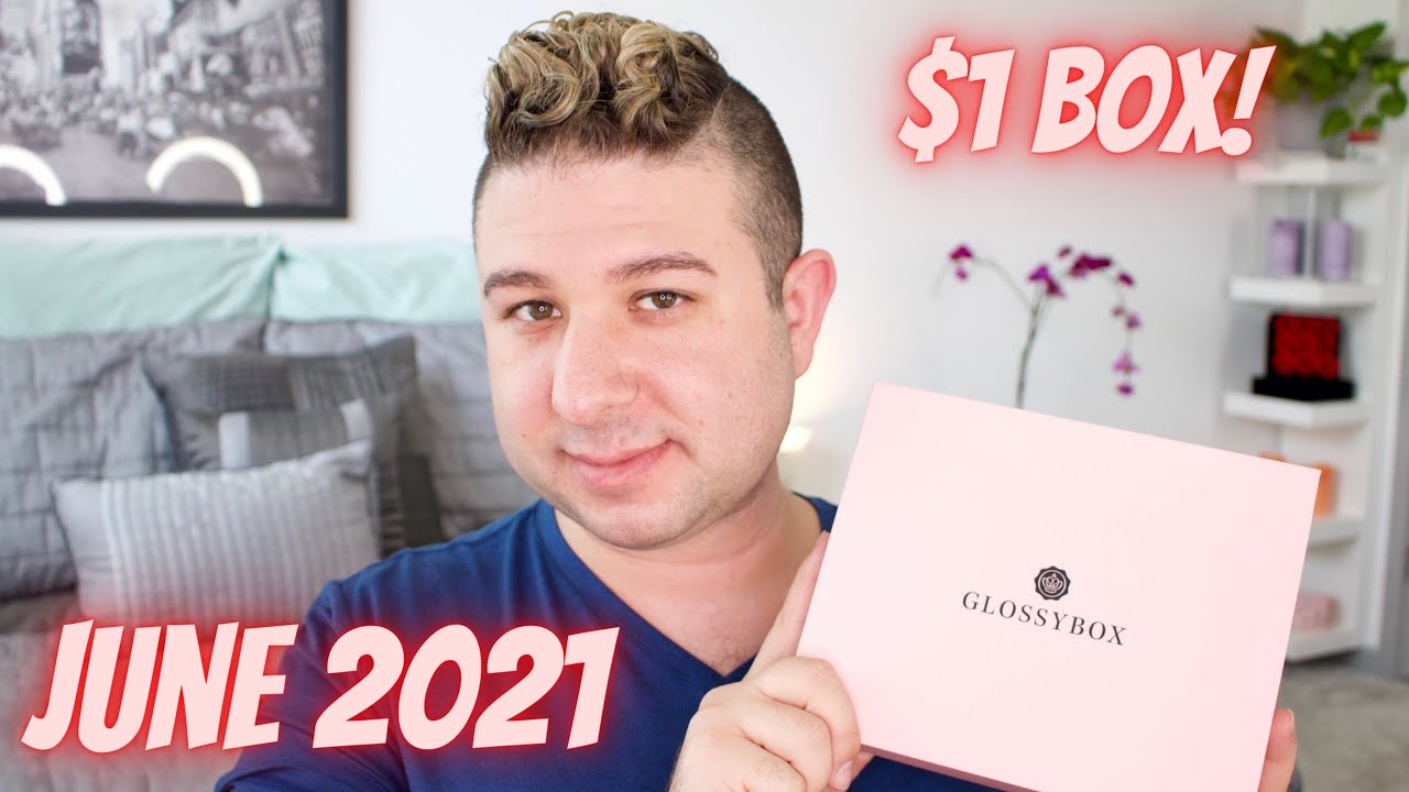 POOLSIDE PARADISE GLOSSYBOX! JUNE 2021 UNBOXING AND REVIEW   Brett Guy Glam