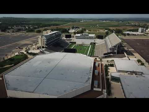 Bill Snyder Family Stadium Bramlage Coliseum  DJI Mavic Pro  Manhattan  KS  KSU Football
