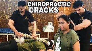 Scoliosis Spine Treatment by CHIROPRACTIC ADJUSTMENT BACK PAIN RELIEF 💈ASMR CRACKS