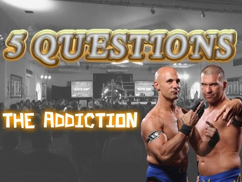 Christopher Daniels / Frankie Kazarian / The Addiction interview