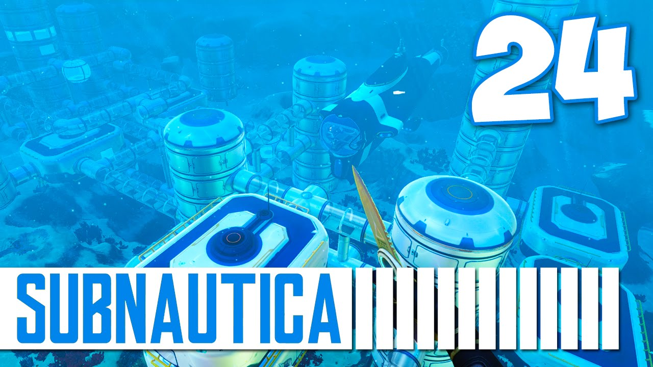 Subnautica Cyclops Docking Station Episode 24 Youtube