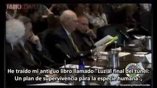 """""""2 extraterrestres vivos trabajan con el gobierno de Estados Unidos"""" (Paul Hellyer) 2013"""