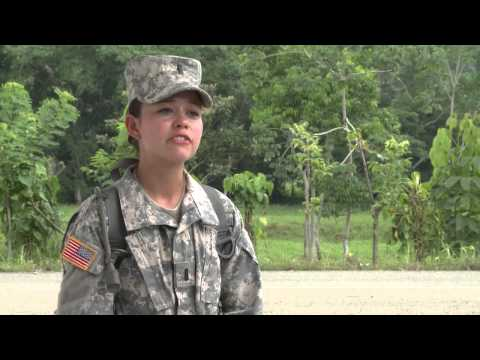 Female Army Officer returns to Panama (Update)