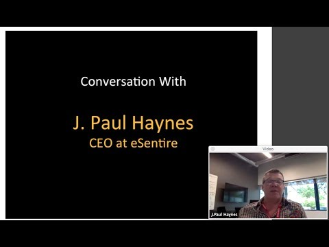 360th 1Mby1M Roundtable July 6, 2017: With J. Paul Haynes, eSentire