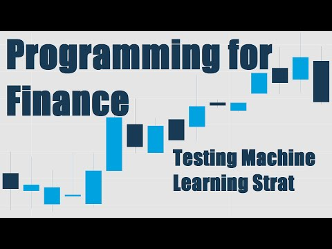 Testing our Machine Learning Strategy - Python for Finance 17