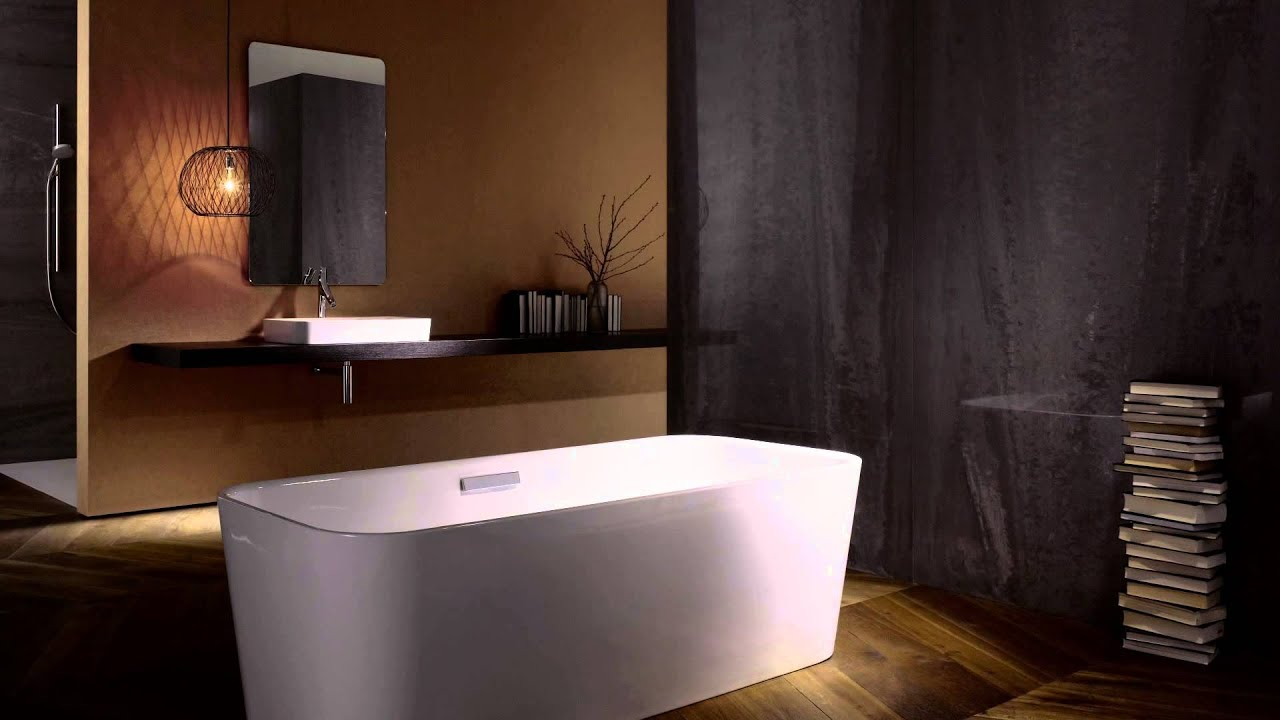 betteart freisteihende badewanne und waschtisch youtube. Black Bedroom Furniture Sets. Home Design Ideas