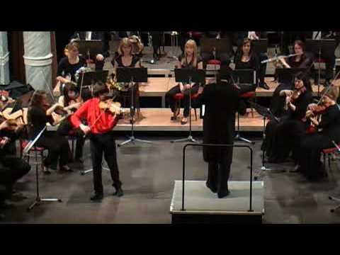 Lalo Symphonie Espagnole 1st movement - Marek Pavelec