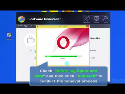 How to Completely Remove Opera Browser, Easily Windows Tutorial