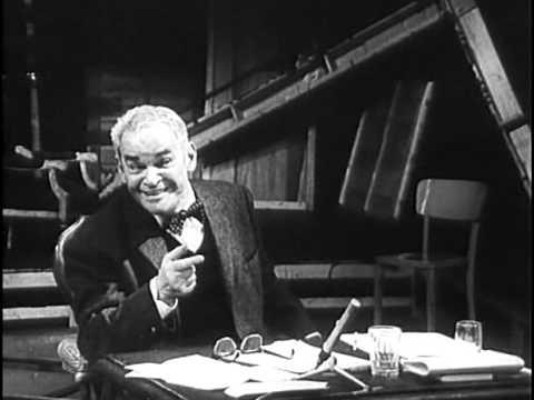 Fritz Kortner spielt Shylock