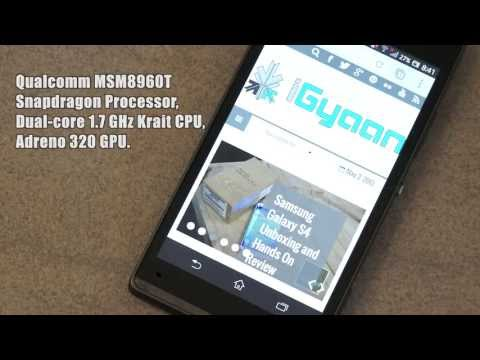 Sony Xperia SP Full Detailed In Depth Review - iGyaan