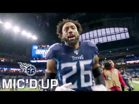 Logan Ryan Mic'd Up vs. Colts (Week 13) | Tennessee Titans