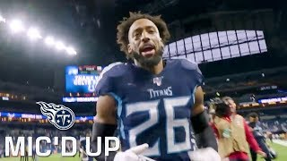 Logan Ryan Mic'd Up vs. Colts (Week 13) | Tennessee Titans