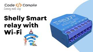 Shelly WiFi relay