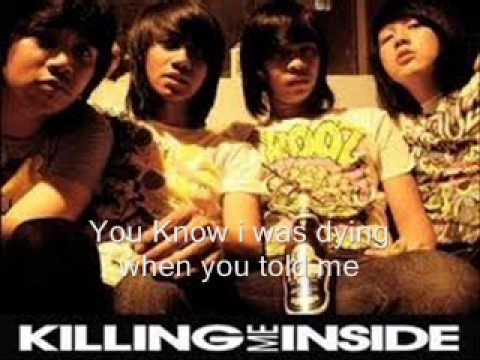 Killing Me Inside Feat Widy