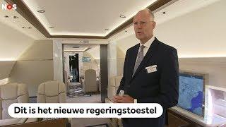 Koning Willem-Alexander heeft een nieuw vliegtuig: een exclusief kijkje binnen