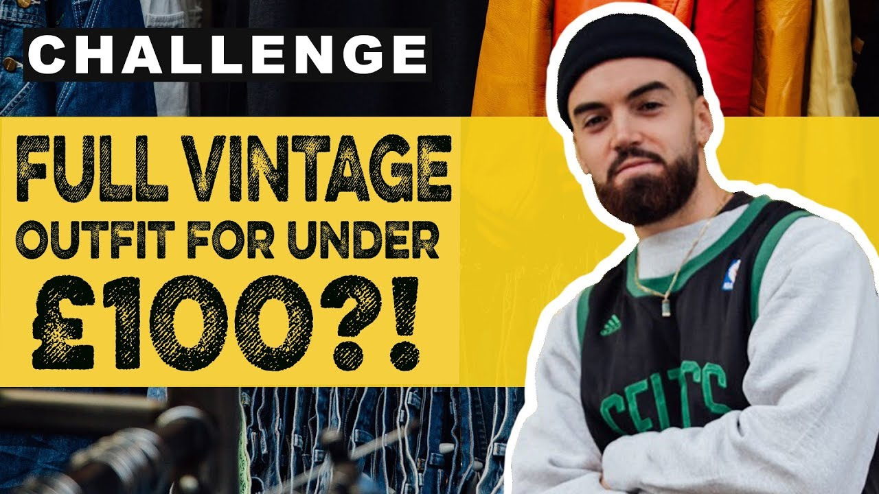 FULL OUTFIT FOR UNDER £100?! | ethical vegan fashion challenge!