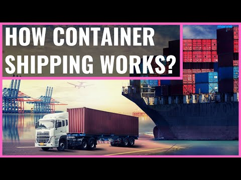 How Container Shipping Works?