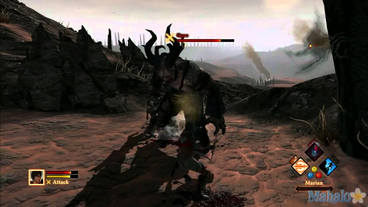 Dragon Age 2 Test