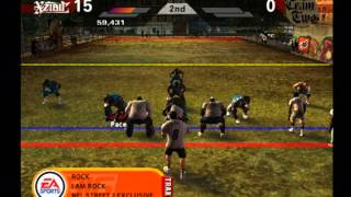 NFL Street 2 Pick up Game