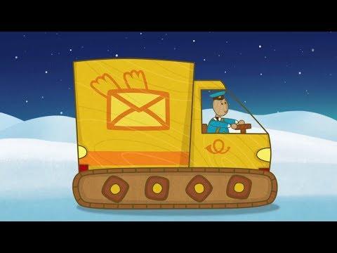 """""""Машинки"""", мультсериал для мальчиков - Почтовый фургон (серия 32) и сборник серий!"""