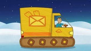 'Машинки', мультсериал для мальчиков - Почтовый фургон (серия 32) и сборник серий!