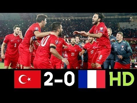 Turkey vs France 2 0 All Goals & Highlights 08.06.2019 HD