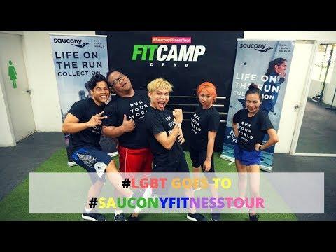 Gamhanan Gang joins Saucony Fitness Tour Cebu