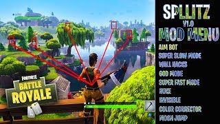 MOD MENU - CHEATS on FORTNITE Battle Royale! attention!