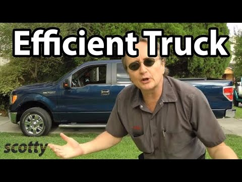 Fuel Efficient Full Size Pick Up Truck