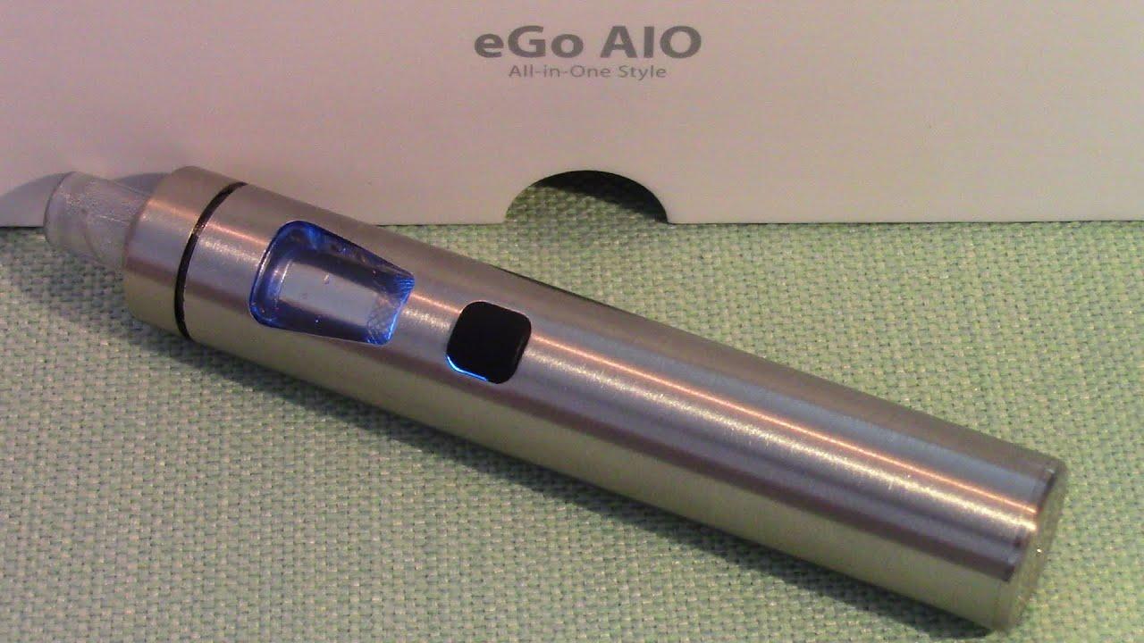 Joyetech eGo AIO (All-In-One) - Nice Simple Vape Pen For Beginners - Decent  Vapor