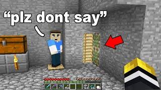 I found this kids underground Minecraft base.. then his best friend exposed a secret basement!