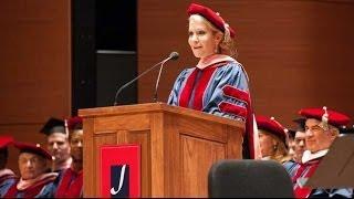 Juilliard Commencement 2014 -- Joyce DiDonato, Speaker