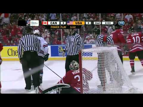 World Juniors: Canada Vs. USA 1/3/11