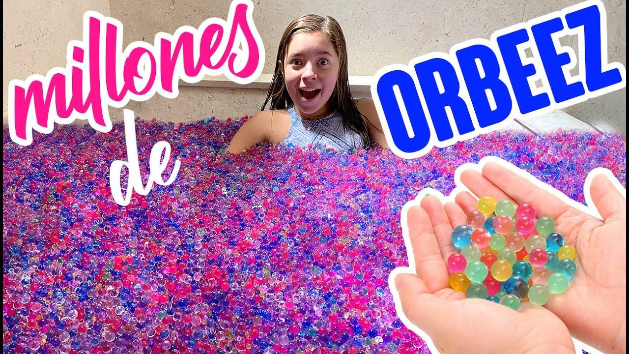 Millones de Orbeez en mi Bañera
