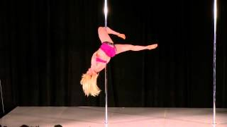 Mid West Pole Dance Competition Alice Hodge National Masters