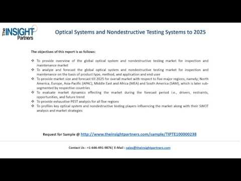 Optical Systems and Nondestructive Testing Systems Market Trends |The Insight Partners