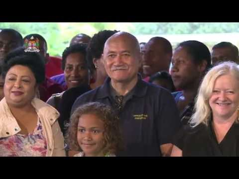 Fijian President H. E. Jioji Konrote Officially Launched the Physical Activity Month