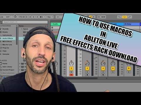 How to use Effects Macro tutorial in Ableton Live with Free
