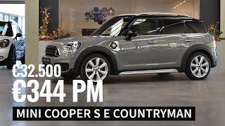 Verkocht - MINI Cooper S E Countryman - €344,- per maand - 2018 - 60.200 km - 224 pk - €32.500,-