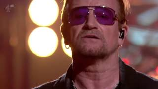 U2 Song for Someone TFI Friday 16 10 2015