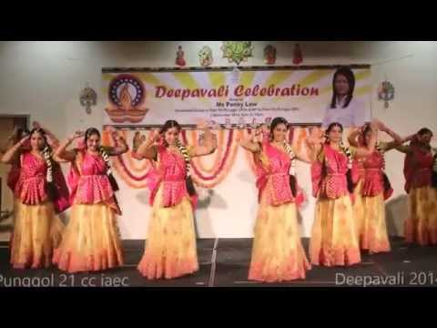 Radha Kaise Na Jale - by Saavaria Dance Group - Deepavali 2014 Punggol