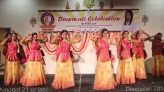 Radha Kaise Na Jale - by Saavaria Dance Group - Deepavali 2014 Punggol