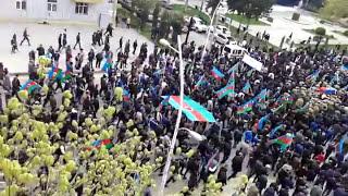 Gambar cover Şəhid olan gizir Teymur Qasımovun dəfni Mingəçevir