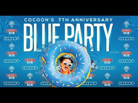 Cocoon 7th Anniversary BLUE PARTY 2017