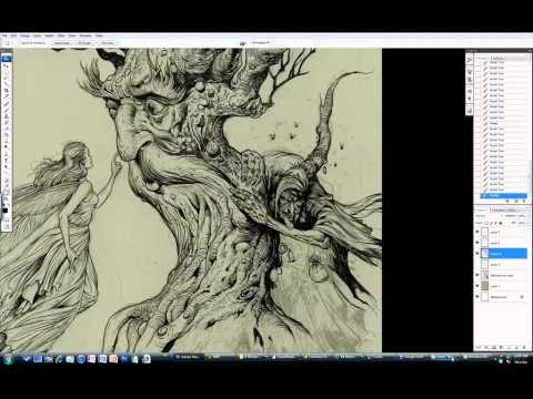 Paint like Arthur Rackham in Photoshop, with Sean Andrew Murray