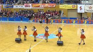 QunQun in 日本ハンドボールリーグ熊本大会