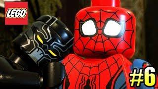 LEGO Marvel Super Heroes 2 PС прохождение часть 6 ЧЕЛОВЕК ПАУК И ЧЕРНАЯ ПАНТЕРА