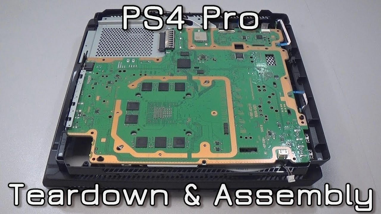 Ps4 pro teardown