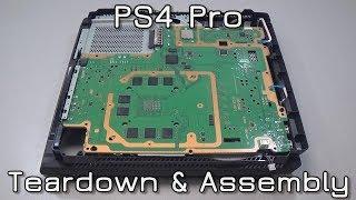 PS4 Pro Teardown & Assembly