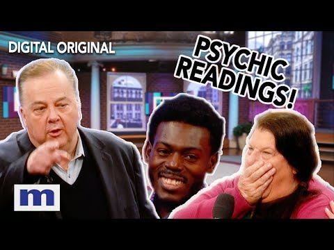 Psychic Medium Jeffrey Wands Audience Readings   The Maury Show